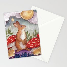Wee Little Rabbit Stationery Cards