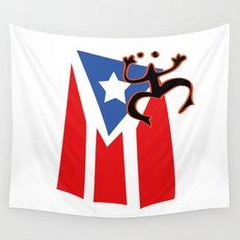 Mi bandera, Puerto Rico Wall Tapestry