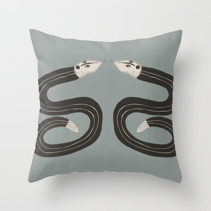 Sssymetry Throw Pillow