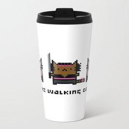 The Walking Cat - Meowchonne Metal Travel Mug