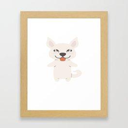 Jindo Gift Idea Framed Art Print