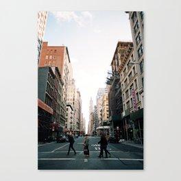 New York Stride Canvas Print