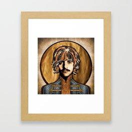 Boho Beatle ( Ringo ) Framed Art Print