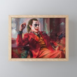 Send in The Clowns Framed Mini Art Print