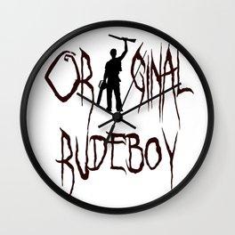Original Rudeboy Wall Clock