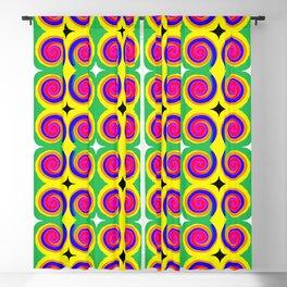 Swirly Pattern 1 Blackout Curtain