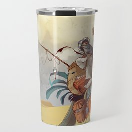 Bedouin in the wrong direction Travel Mug