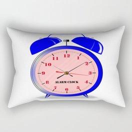 Oval Alarm Clock Rectangular Pillow