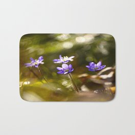 Beautiful Surprise In Spring Forest Bath Mat