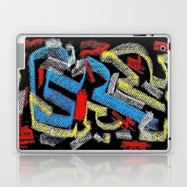 Abstract pastel multicolor Laptop & iPad Skin