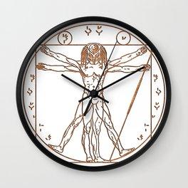 Predruvian Dark Wall Clock