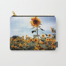 Sunflower Photograph Carry-All Pouch