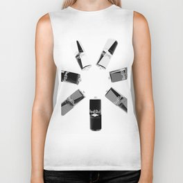 Gives you Wings Black And White Biker Tank
