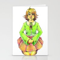 chihiro Stationery Cards featuring Chihiro by Mottinthepot