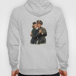 B&B ...Back in the Army (White Christmas) Hoody