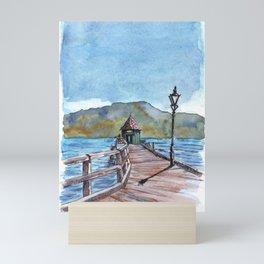 Akaroa , South Island , New Zealand Mini Art Print