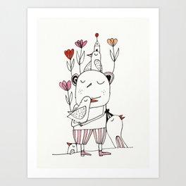 tulips for springtime Art Print