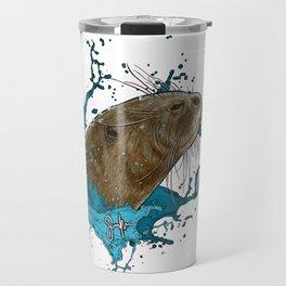 Dru Giant River Otter Travel Mug