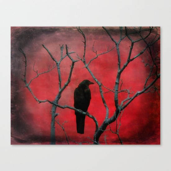 The Color Red Canvas Print