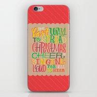 elf iPhone & iPod Skins featuring Elf by Jillian Kaye