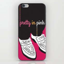80s TEEN MOVIES :: PRETTY IN PINK iPhone Skin
