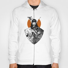 Lady Detail (alternate version) Hoody