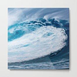 Wave Wave Metal Print