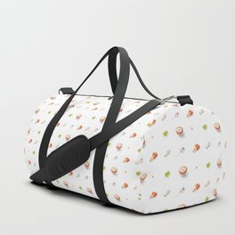 Icing Cookie Pattern_Bright Duffle Bag