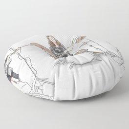 Music band Floor Pillow