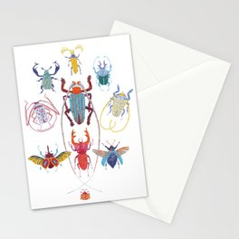 Stitches: Bugs Stationery Cards
