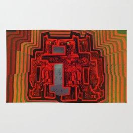 Three's a Crowd / Robotics Rug