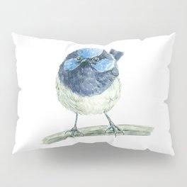 Fairy wren bird Pillow Sham