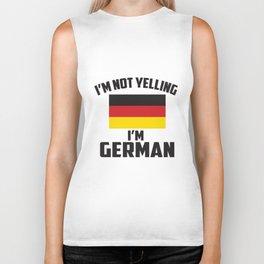 I'm not yelling i'm German! Biker Tank