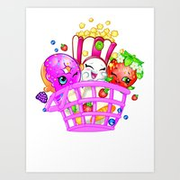 Shopkins 1 Art Print
