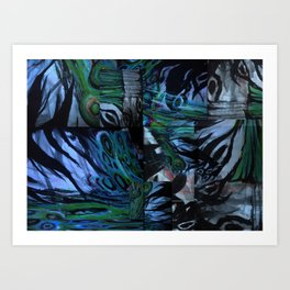 The Abstraction of Utopia and Oblivion  Art Print