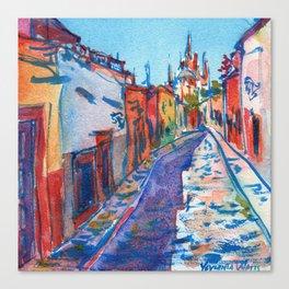 San Miguel De Allende Canvas Print