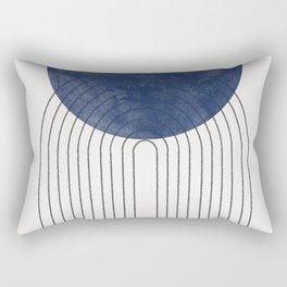 Blue Perfect Balance Rectangular Pillow