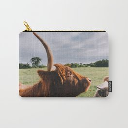 Majestic Highland Cow II Carry-All Pouch