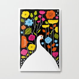 Little Edie's Eden Metal Print