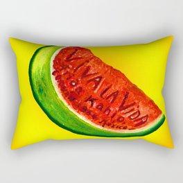 frida kahlo viva la vida Rectangular Pillow