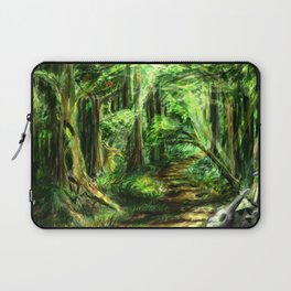 The Great Gaming Forest Laptop Sleeve