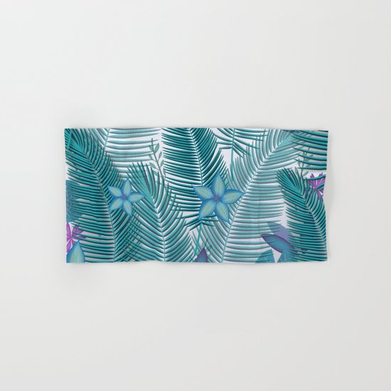 Tropical Flora Hand & Bath Towel