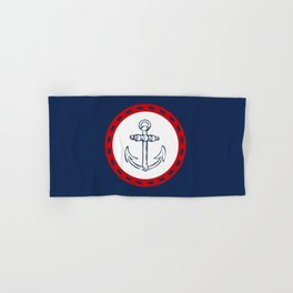 Anchor Hand & Bath Towel
