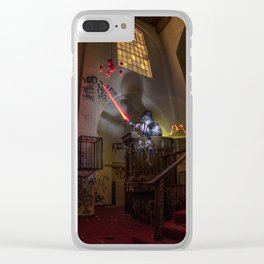 "Welcome To ""The Force Church""  Clear iPhone Case"