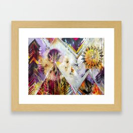 """Burn Bright"" Original Painting by Flora Bowley Framed Art Print"