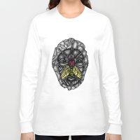 skulls Long Sleeve T-shirts featuring skulls by Hanan Azran