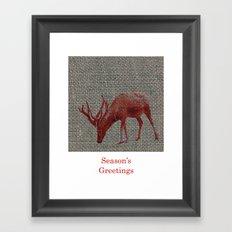 Season's Greetings 01 Framed Art Print
