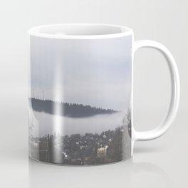 Cloudy Town Coffee Mug