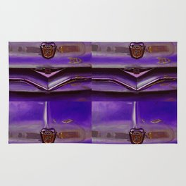 Ford 8 Classic Truck Art - Frosted Plum Rug