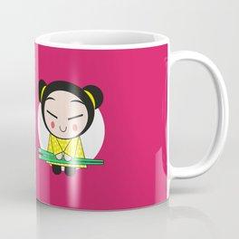 Funny Japanese Girls Coffee Mug